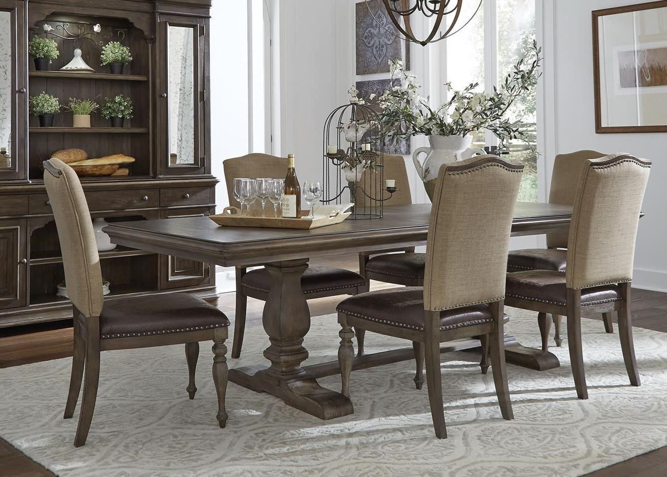 Homestead 7-Piece Table and Chair Set by Liberty Furniture at Catalog Outlet