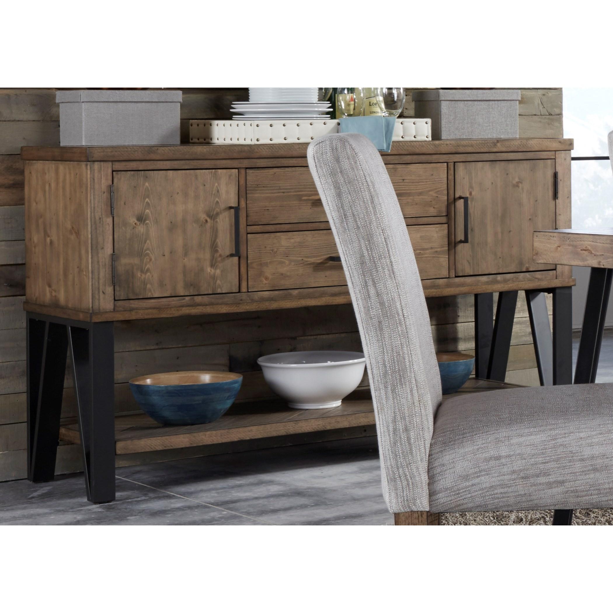 Horizons Dining Sideboard by Liberty Furniture at Lapeer Furniture & Mattress Center