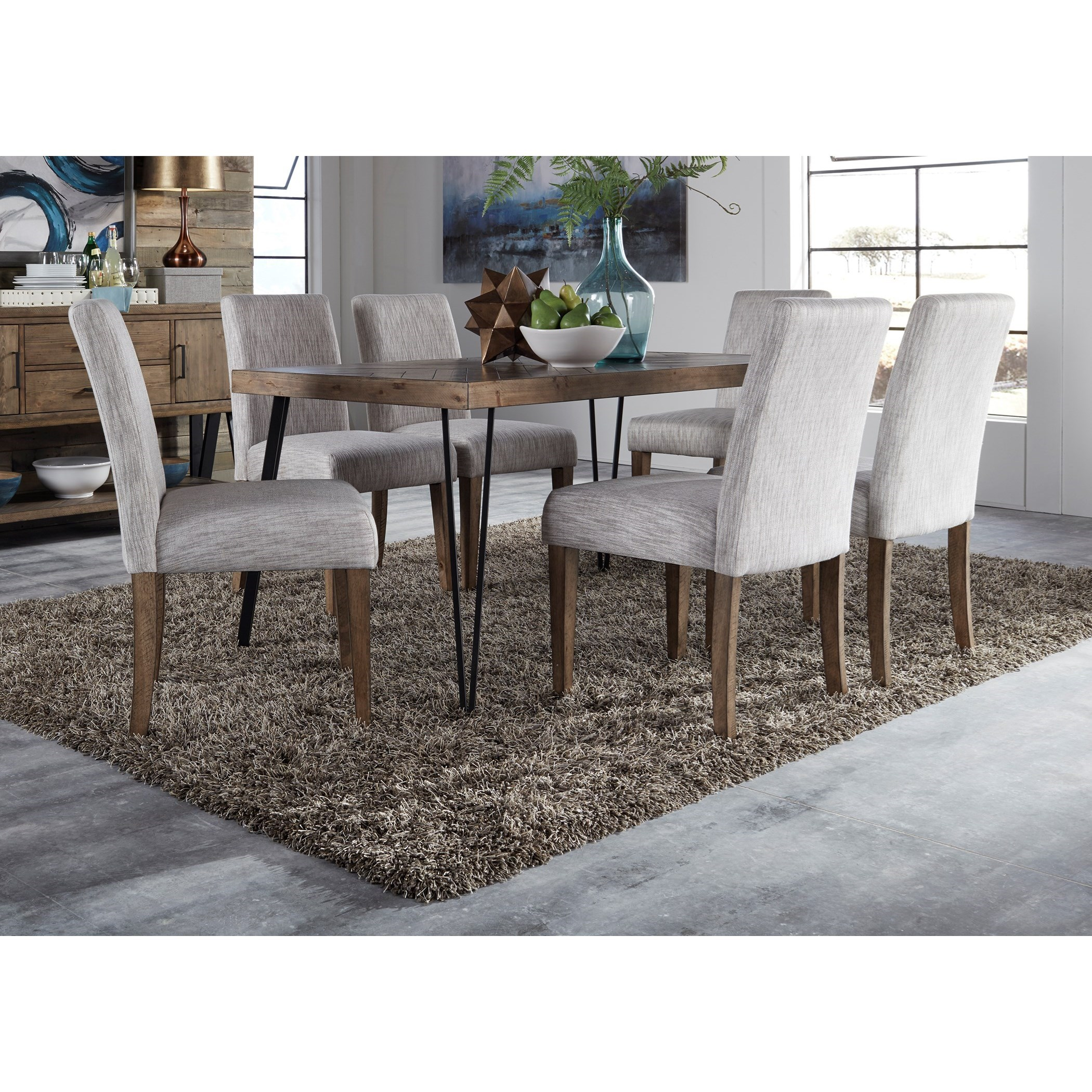 Horizons Table and Upholstered Chair Set by Freedom Furniture at Ruby Gordon Home