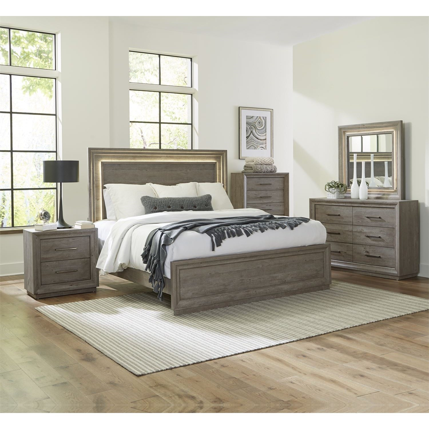 Horizons King Bedroom Group by Liberty Furniture at Northeast Factory Direct