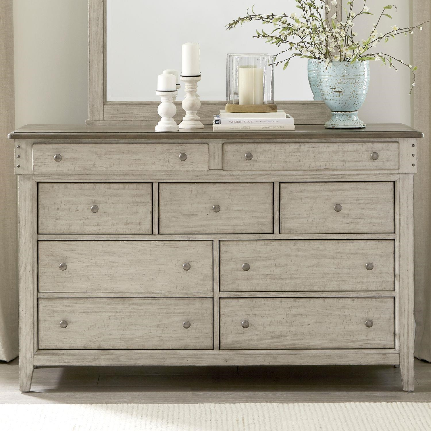 Ivy Hollow 9 Drawer Dresser by Liberty Furniture at Johnny Janosik