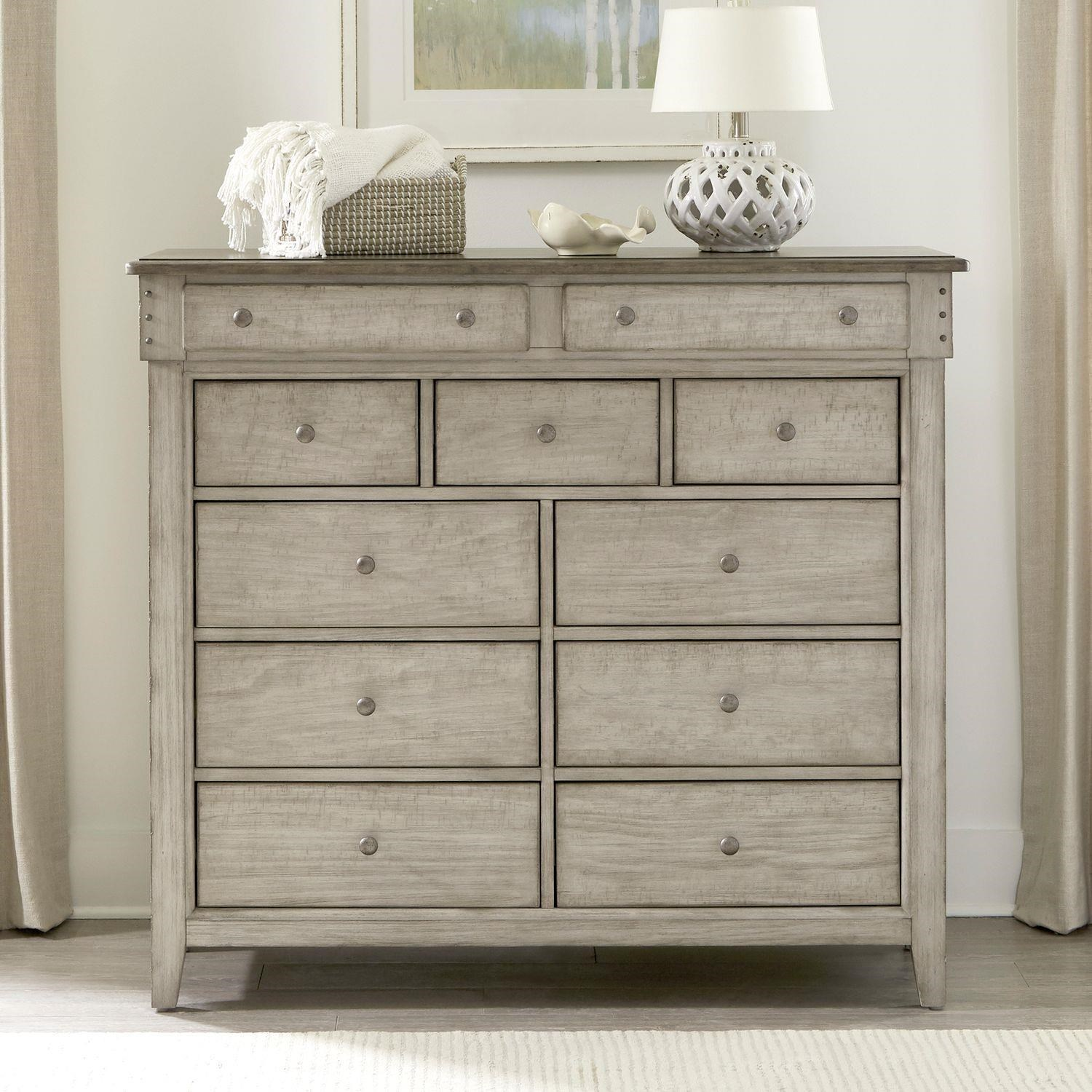 Ivy Hollow 11 Drawer Dresser by Liberty Furniture at Johnny Janosik