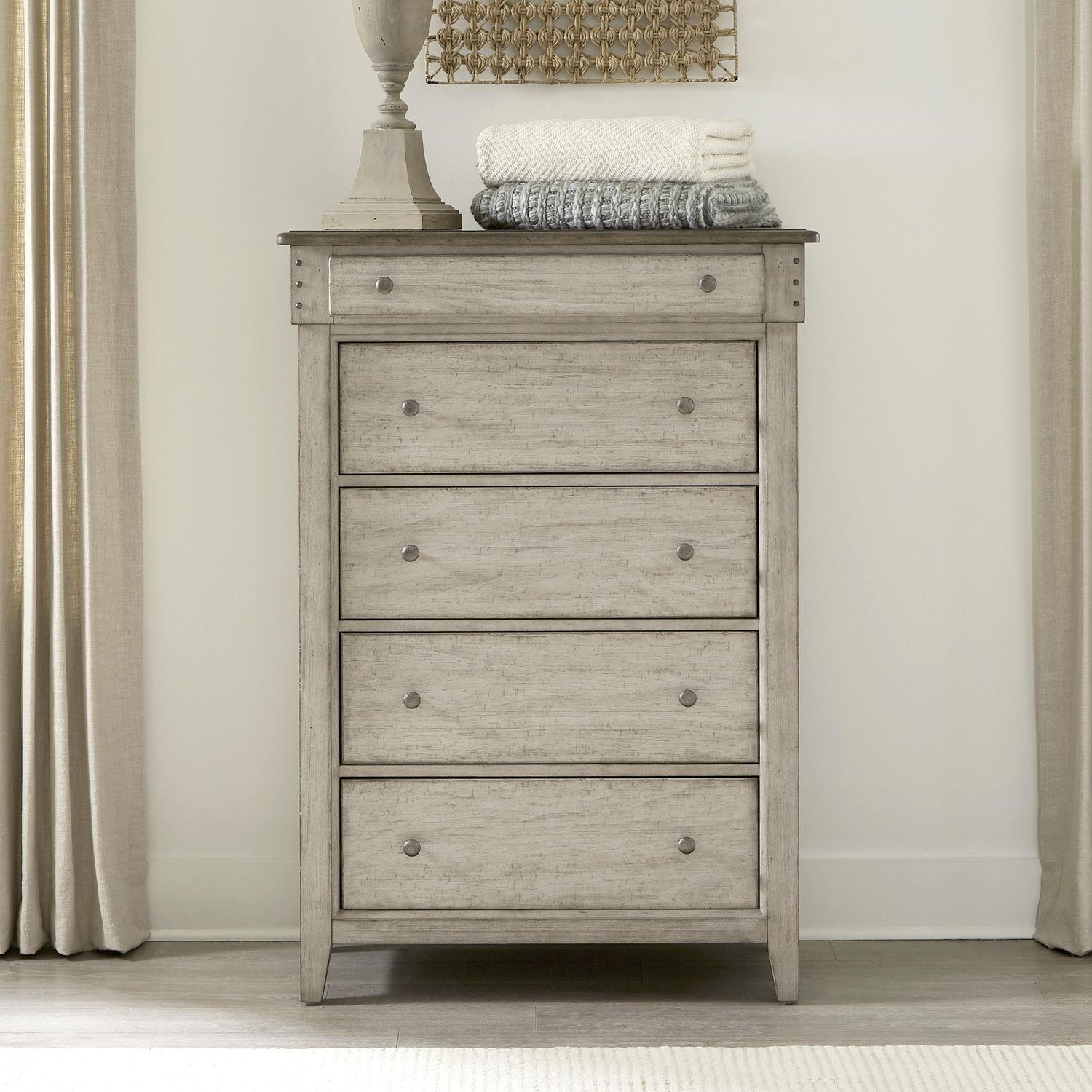 Ivy Hollow 5 Drawer Dresser by Liberty Furniture at Johnny Janosik