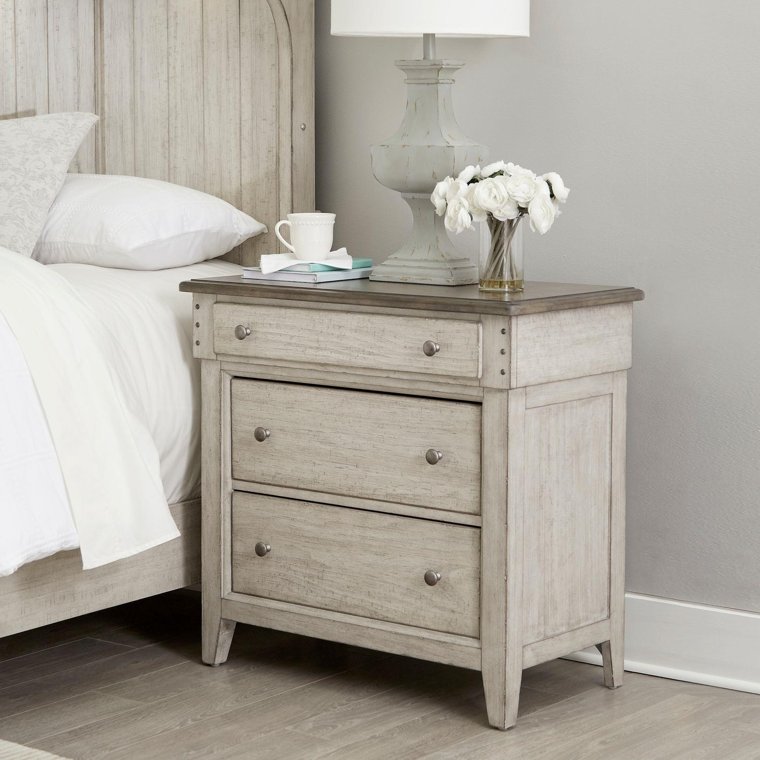Ivy Hollow Bedside Chest by Liberty Furniture at Johnny Janosik