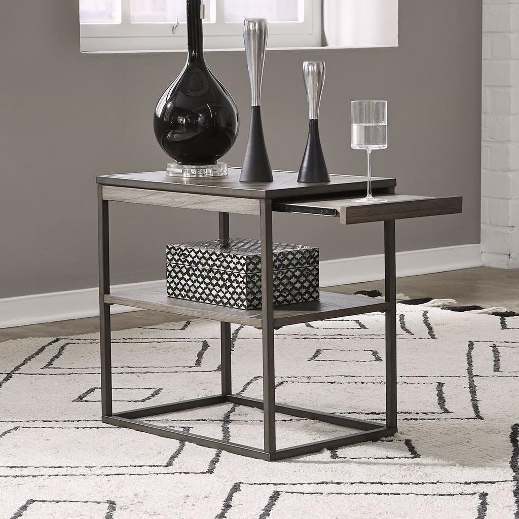 Jamestown Chairside Table by Liberty Furniture at Darvin Furniture