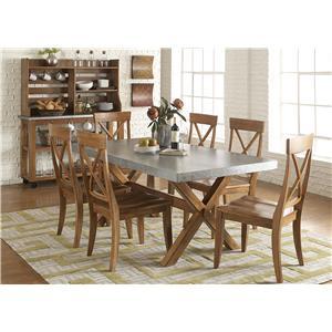 Liberty Furniture Keaton Dining Room Group 1
