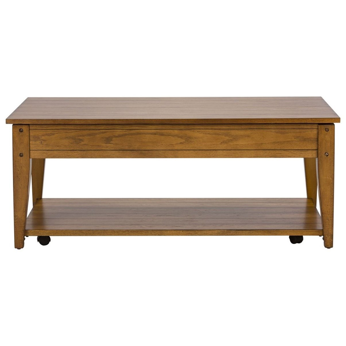 Lake House Lift Top Cocktail Table by Liberty Furniture at Northeast Factory Direct