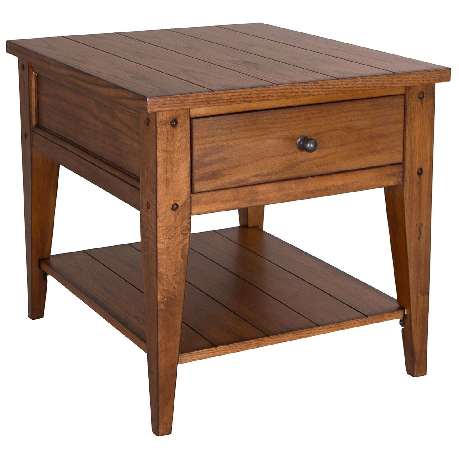 Lake House End Table by Libby at Walker's Furniture