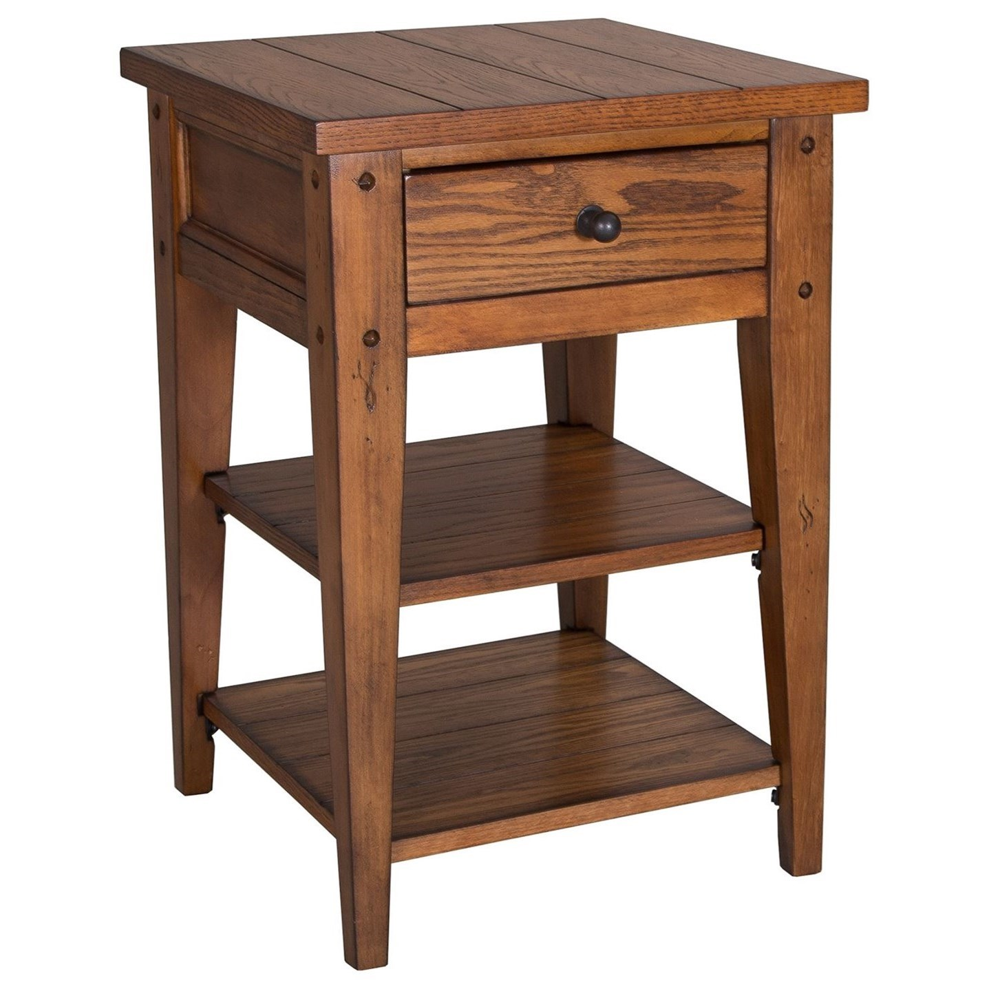 Lake House Chair Side Table by Libby at Walker's Furniture