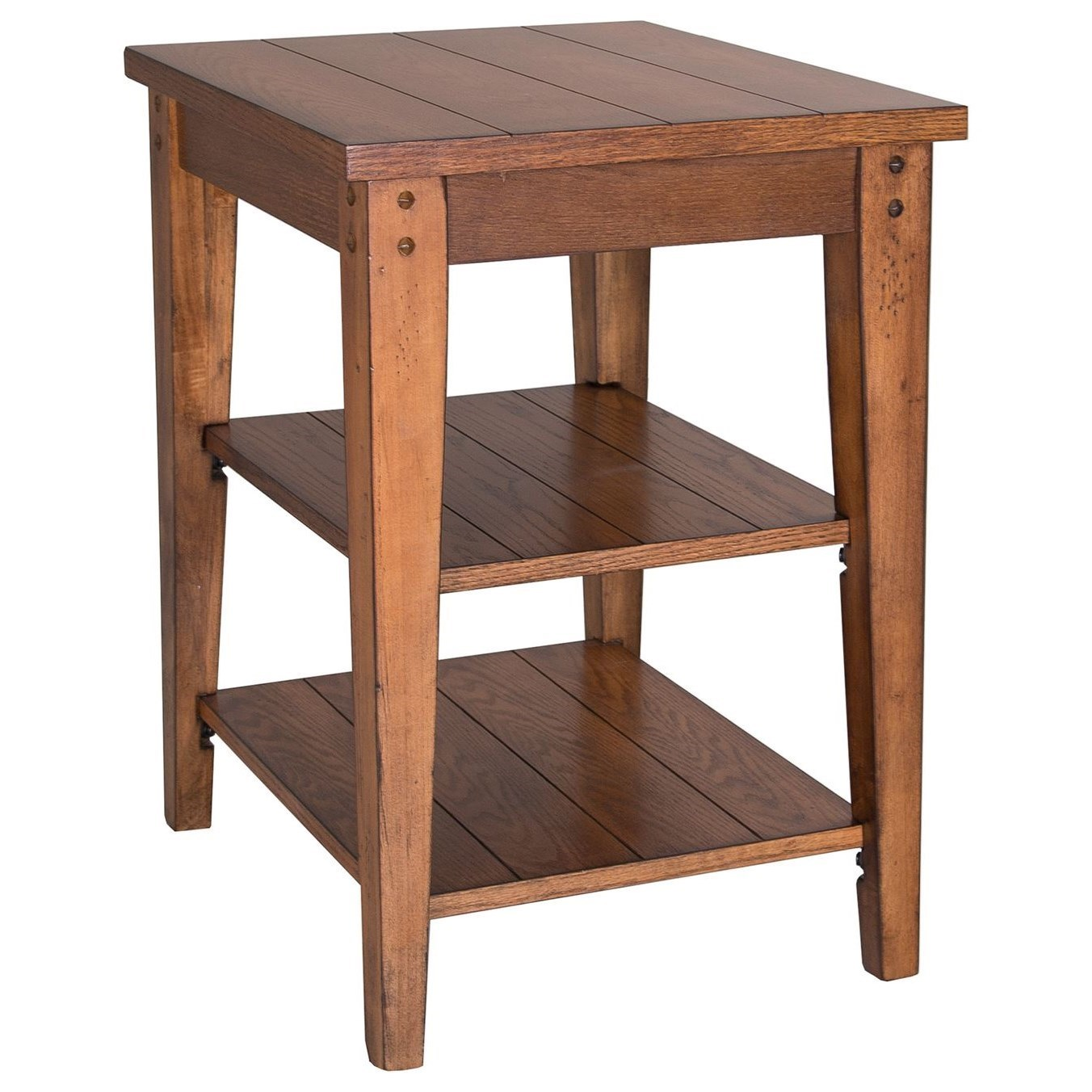 Lake House Tiered Table by Libby at Walker's Furniture
