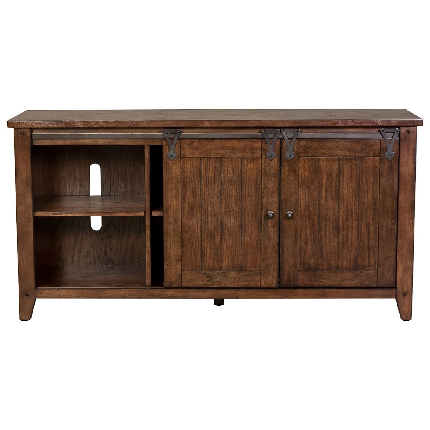 Laney CT TV Console by Libby at Walker's Furniture