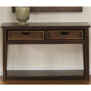 Liberty Furniture Lakewood Basket Sofa Table
