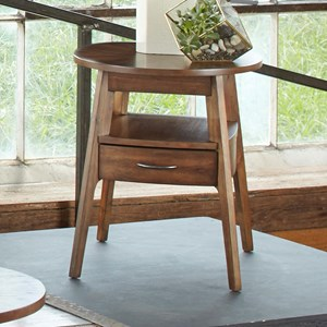 Liberty Furniture Landon Occasional Oval End Table