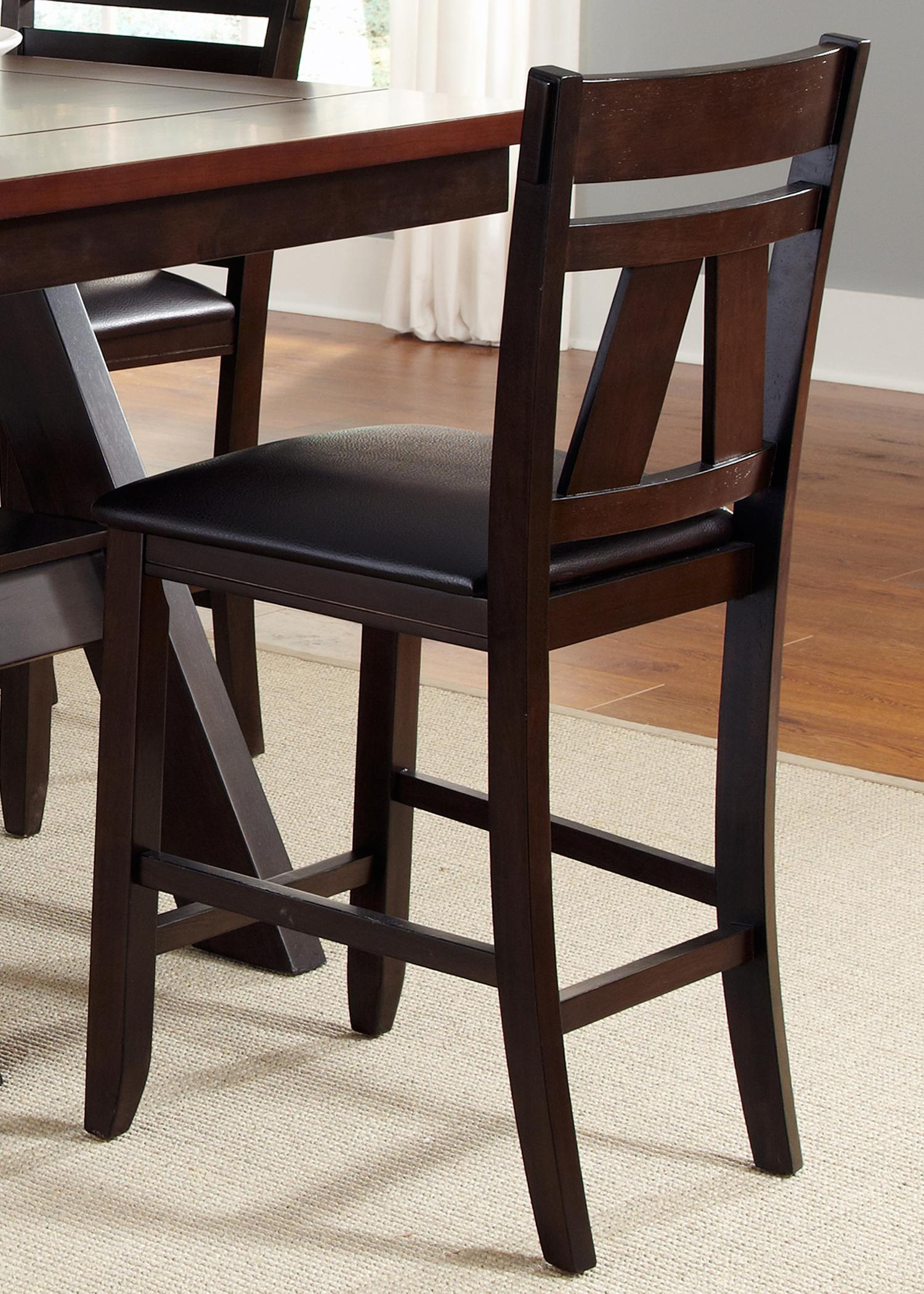 Lawson Splat Back Counter Chair (RTA) by Liberty Furniture at Darvin Furniture