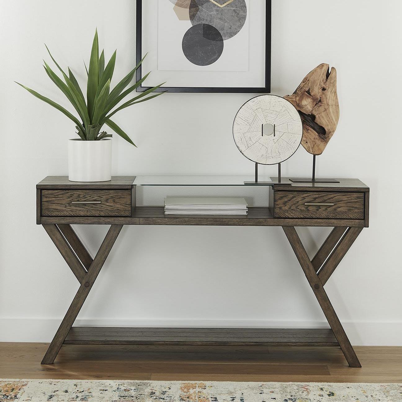 Lennox Drawer Sofa Table by Sarah Randolph Designs at Virginia Furniture Market