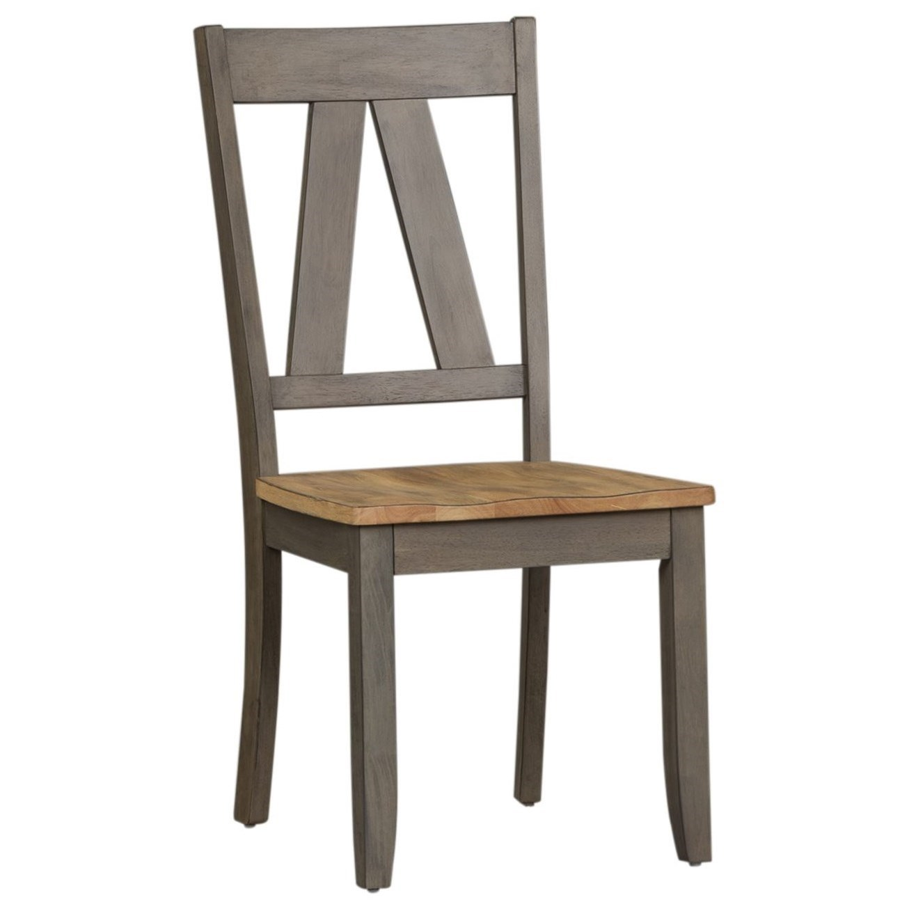 Lindsey Farm Splat Back Side Chair by Liberty Furniture at Northeast Factory Direct