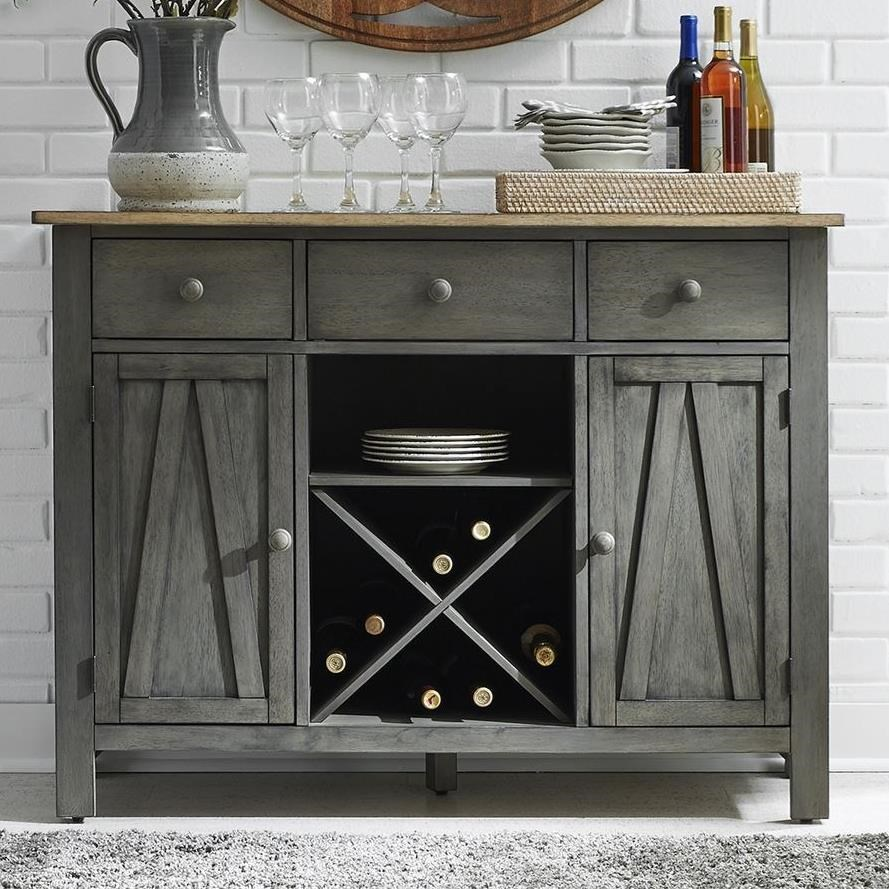 Lindsey Farm Server by Libby at Walker's Furniture