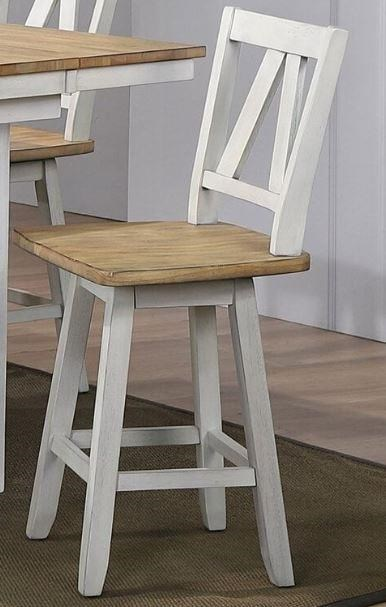 Lindsey Farm Counter Height Swivel Chair by Liberty Furniture at Johnny Janosik