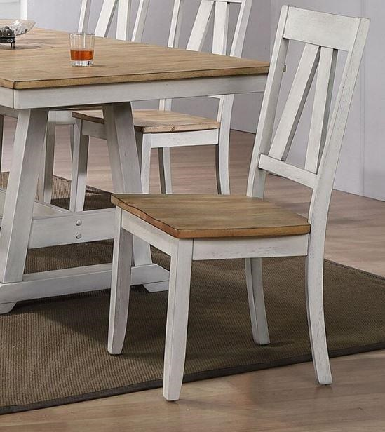Lindsey Farm Splat Back Side Chair by Liberty Furniture at Johnny Janosik