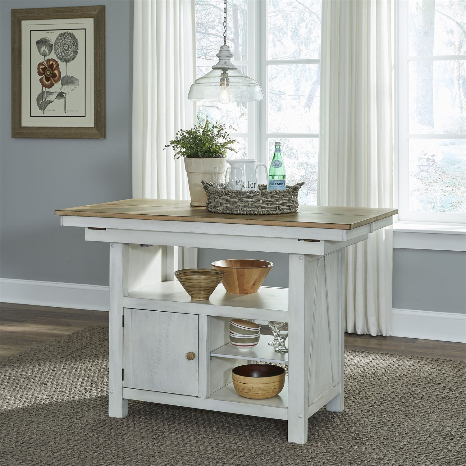 Lindsey Farm Kitchen Island by Liberty Furniture at Darvin Furniture