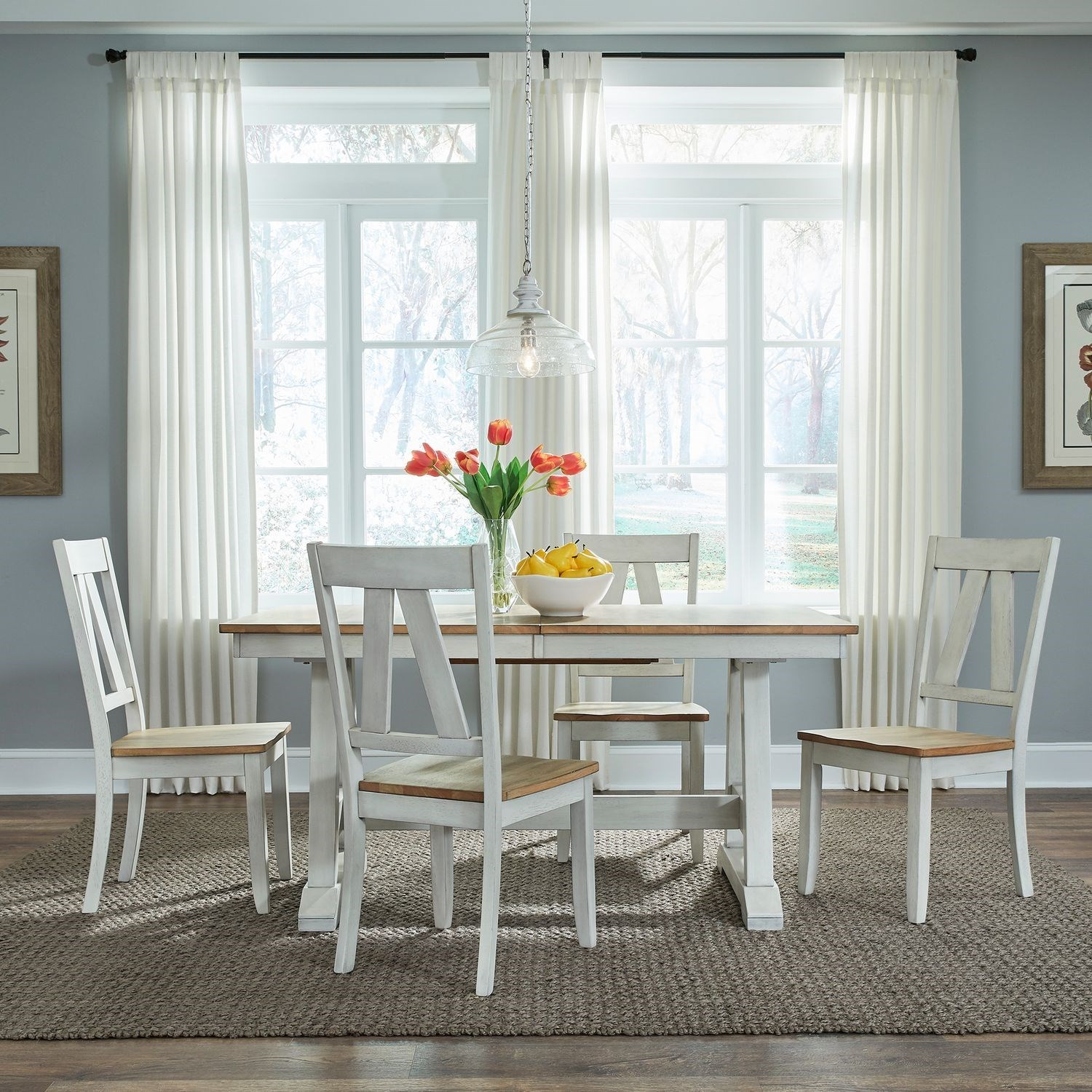 Lindsey Farm 5-Piece Dining Set  by Liberty Furniture at Northeast Factory Direct