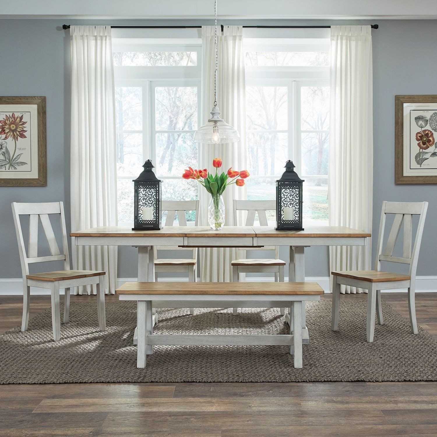 Lindsey Farm 6-Piece Formal Dining Set  by Liberty Furniture at Northeast Factory Direct