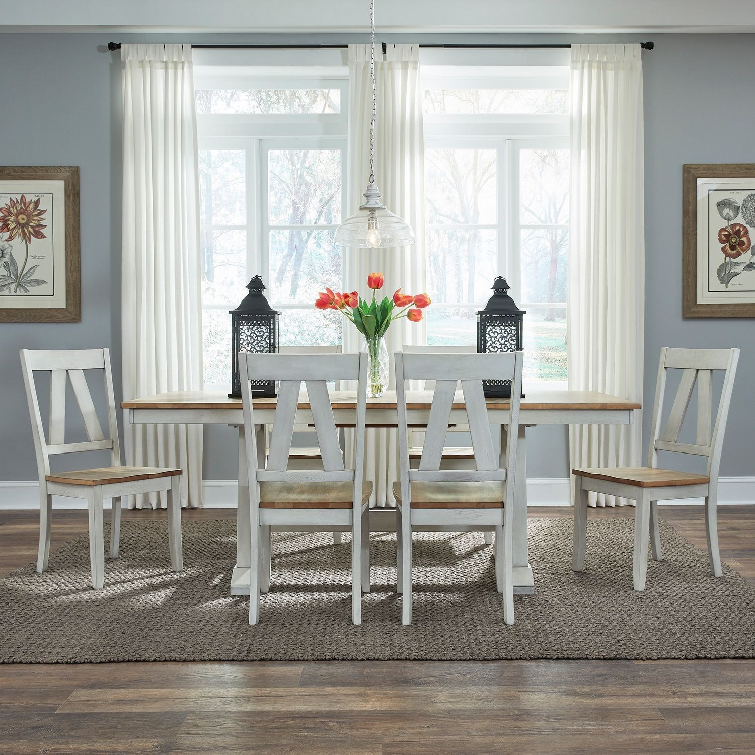 Lindsey Farm 7-Piece Dining Set  by Liberty Furniture at Northeast Factory Direct