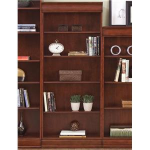 Transitional Jr Executive 72 Inch Bookcase