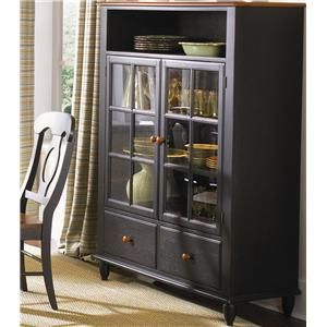 Curio Cabinet with Touch Lighting
