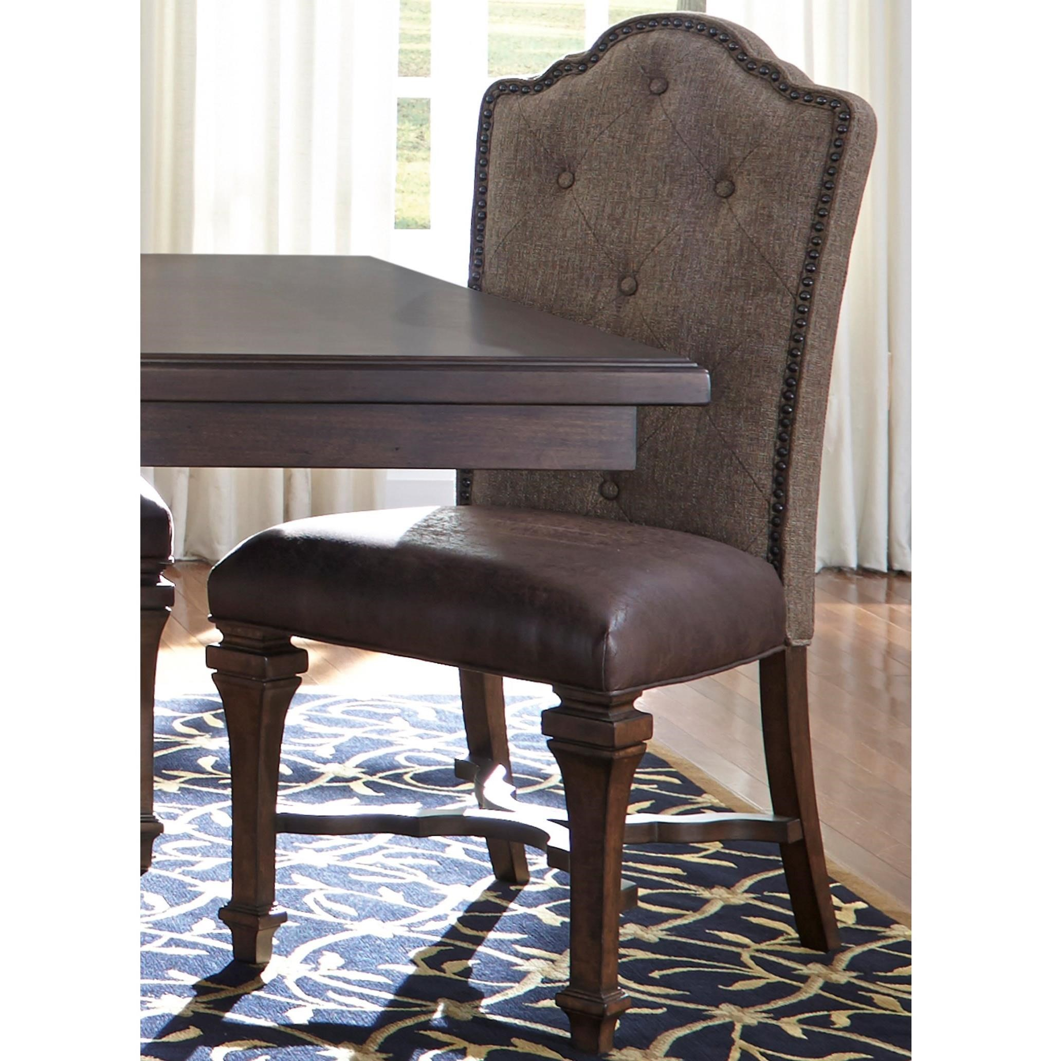 Lucca Upholstered Side Chair by Libby at Walker's Furniture