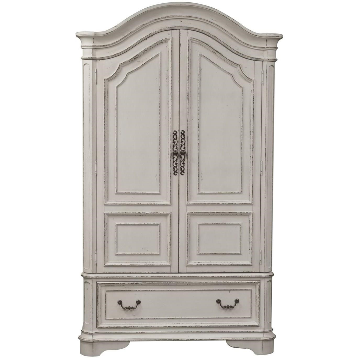 Magnolia Manor Armoire  by Liberty Furniture at SuperStore