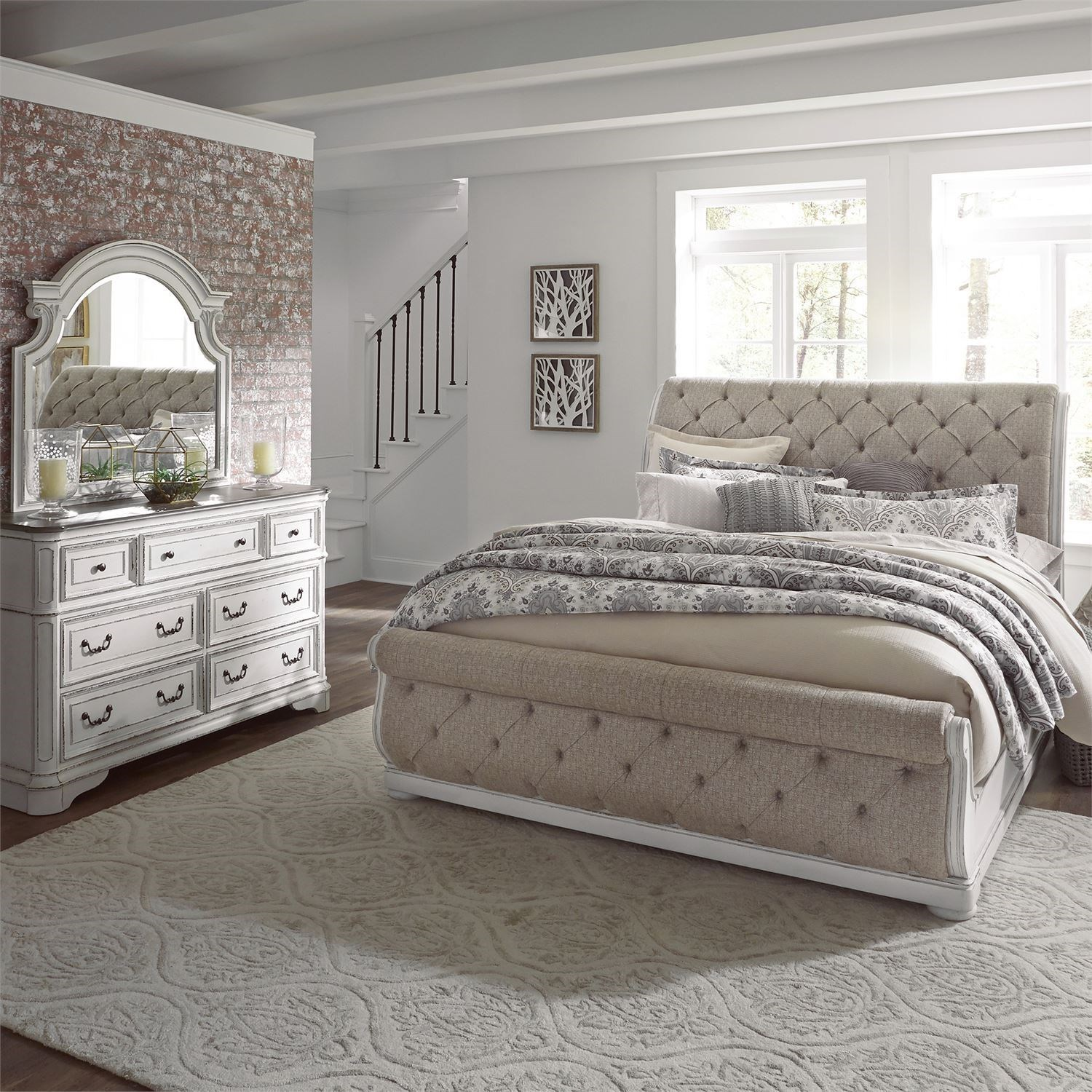 Morgan King Bedroom Group by Libby at Walker's Furniture