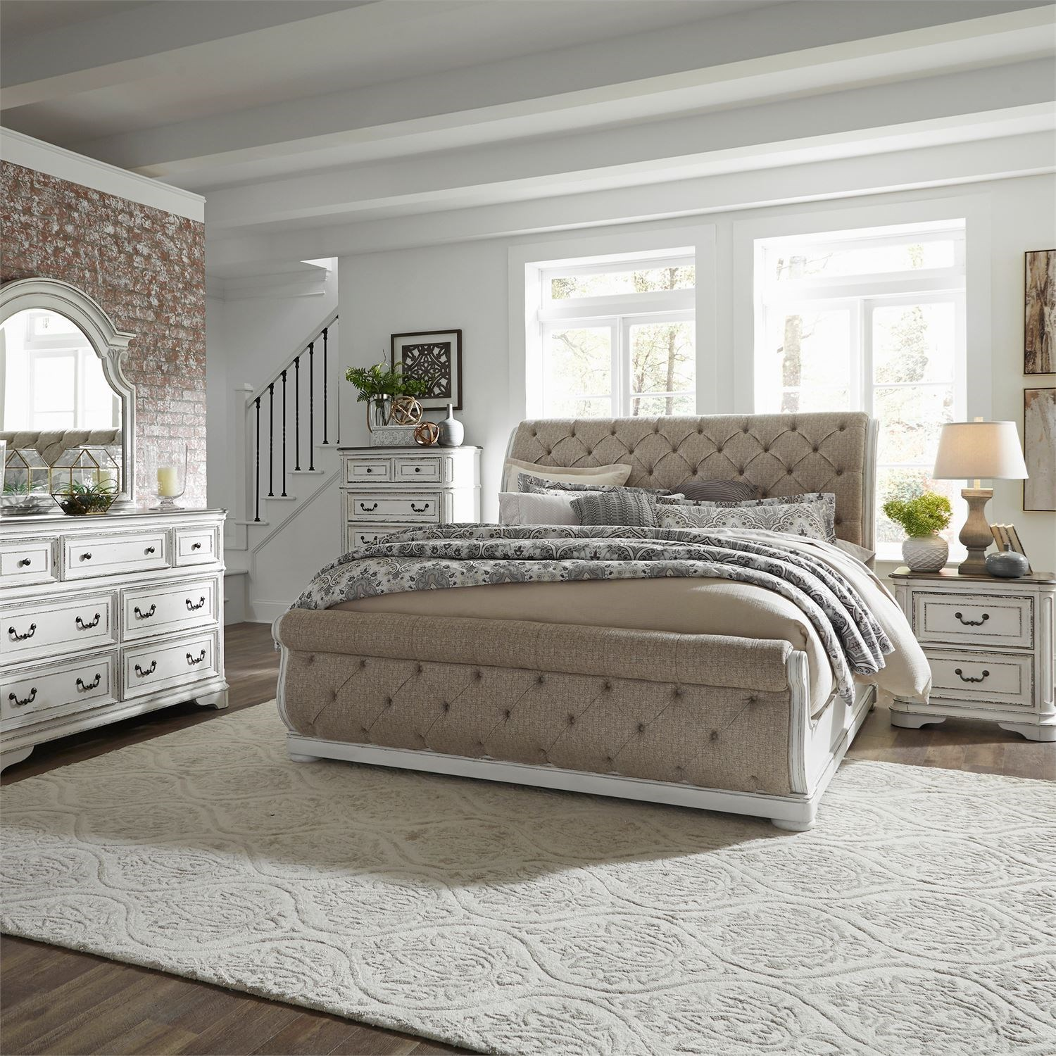 Magnolia Manor Queen Bedroom Group by Liberty Furniture at Bullard Furniture