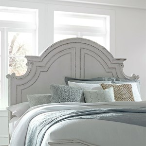 Cottage Style Queen Panel Headboard
