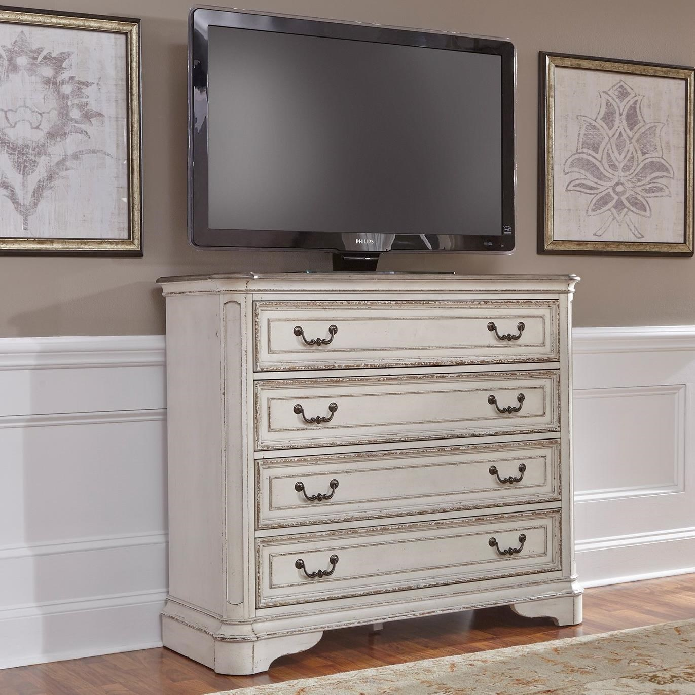 Morgan Media Chest by Libby at Walker's Furniture