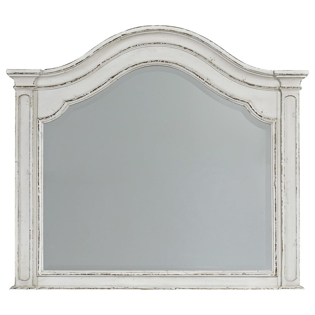 Magnolia Manor Arched Mirror by Liberty Furniture at Bullard Furniture