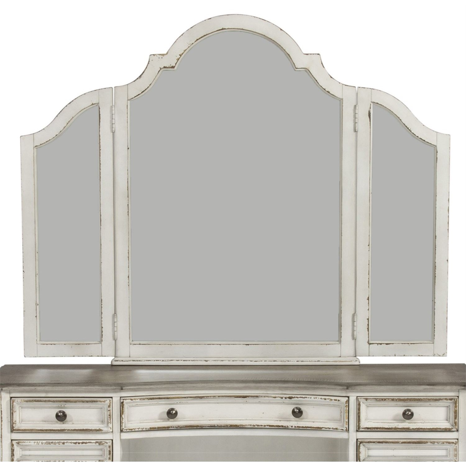 Magnolia Manor Vanity Mirror by Liberty Furniture at Johnny Janosik