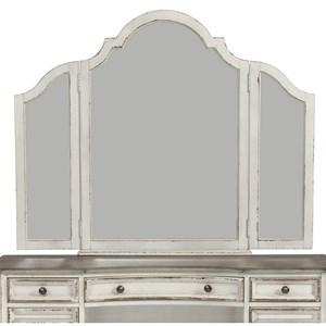 Vanity Mirror with Wood Frame