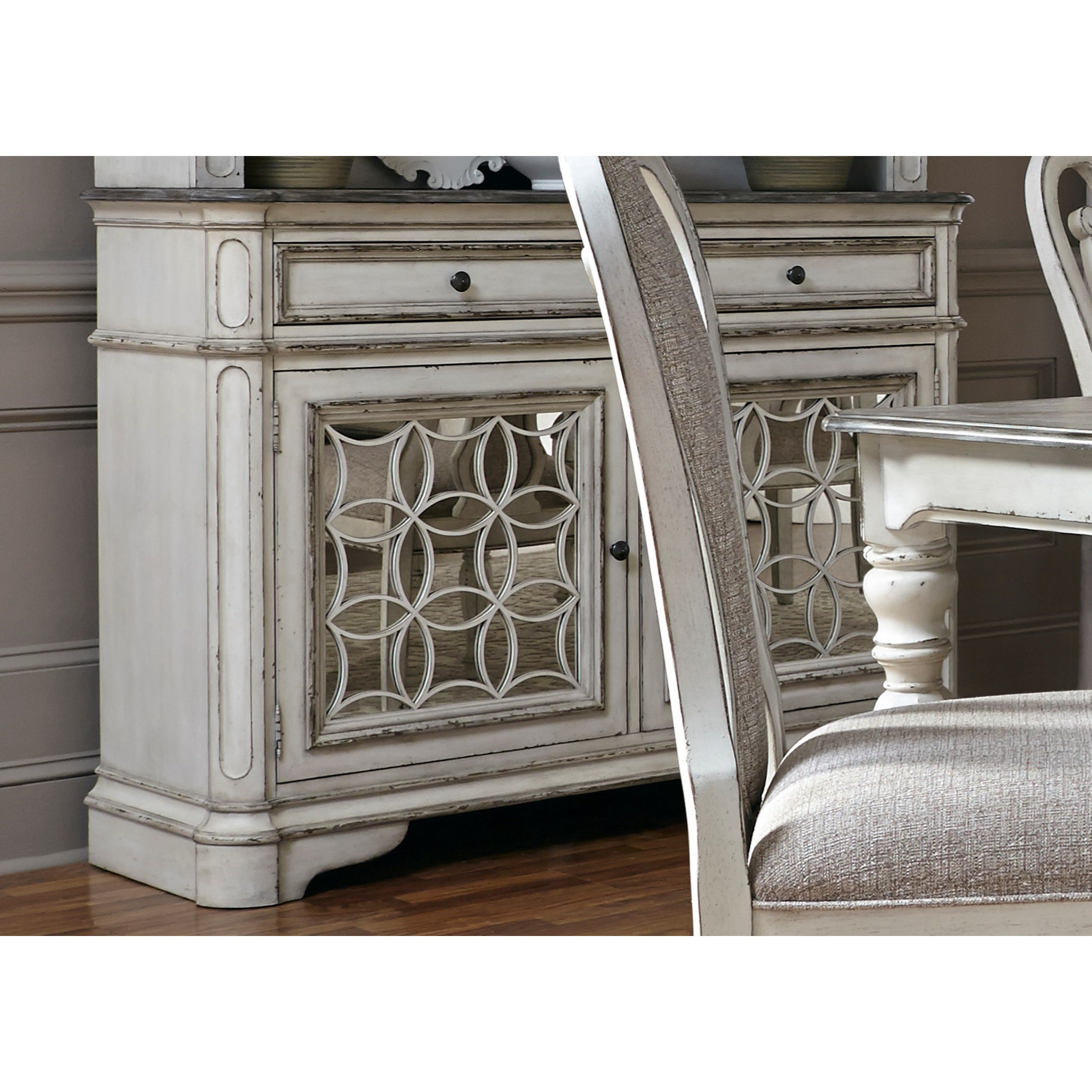 Magnolia Manor Dining Dining Buffet by Liberty Furniture at Lapeer Furniture & Mattress Center