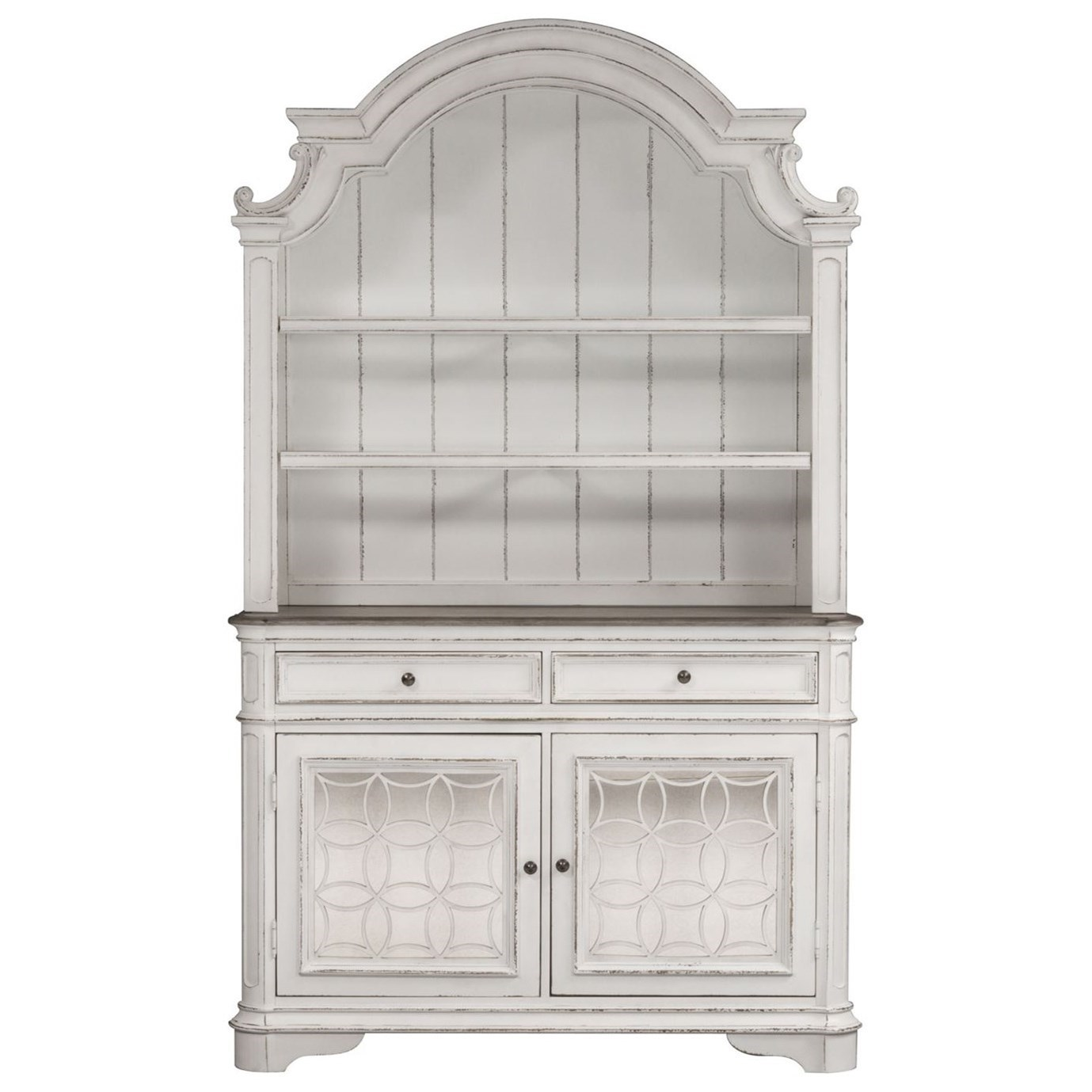 Magnolia Manor Dining Buffet and Hutch by Liberty Furniture at Bullard Furniture