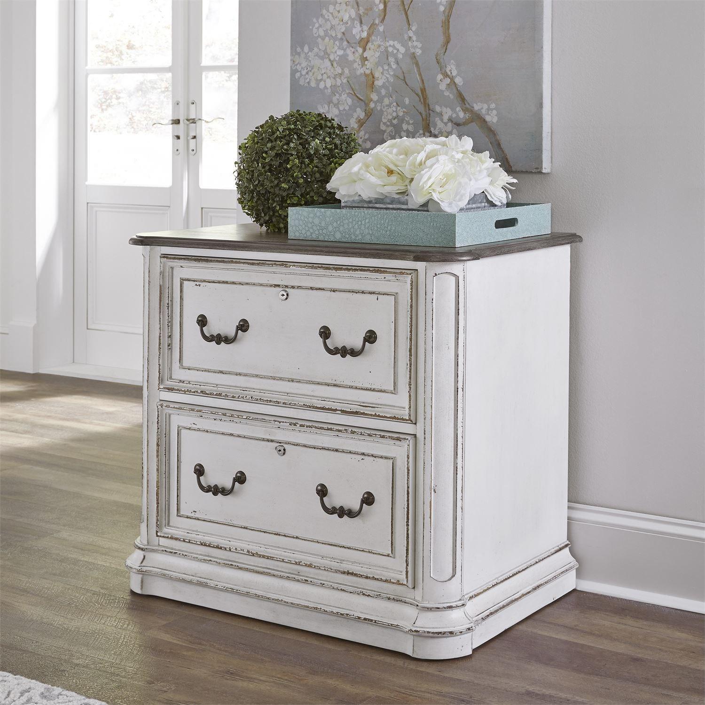Magnolia Manor Office Lateral File by Liberty Furniture at Bullard Furniture