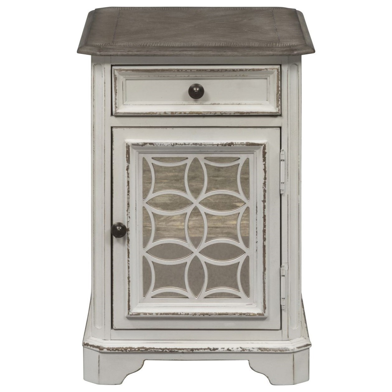 Myra Chair Side Table by Libby at Walker's Furniture