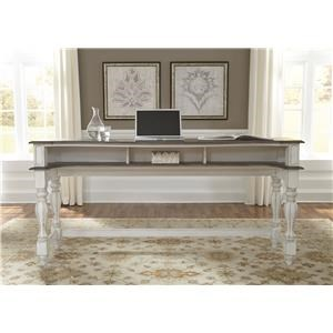 Liberty Furniture Magnolia Manor Office Console Table