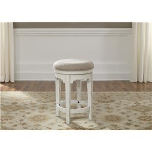 Liberty Furniture Magnolia Manor Office Console Swivel Stool