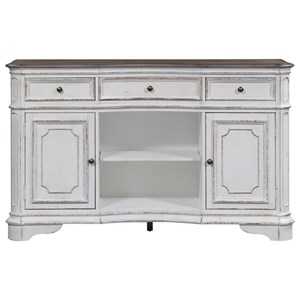 Cottage Server with Felt-Lined Drawers