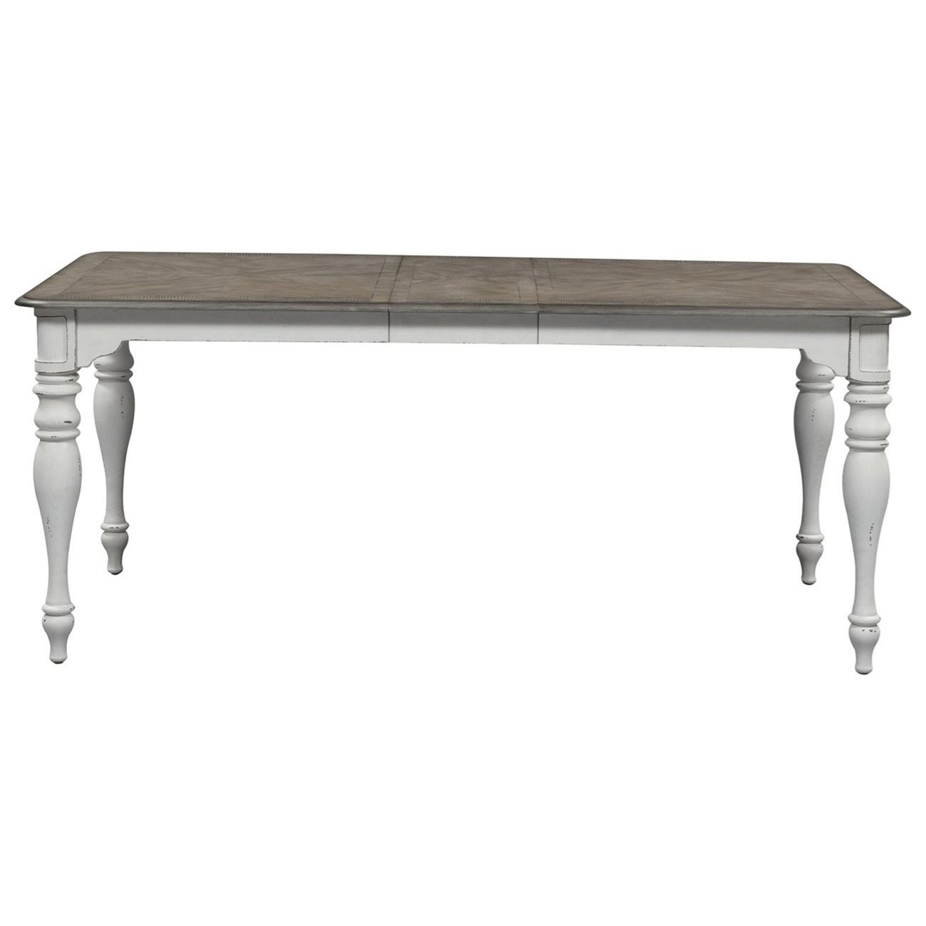 Morgan Leg Table by Libby at Walker's Furniture