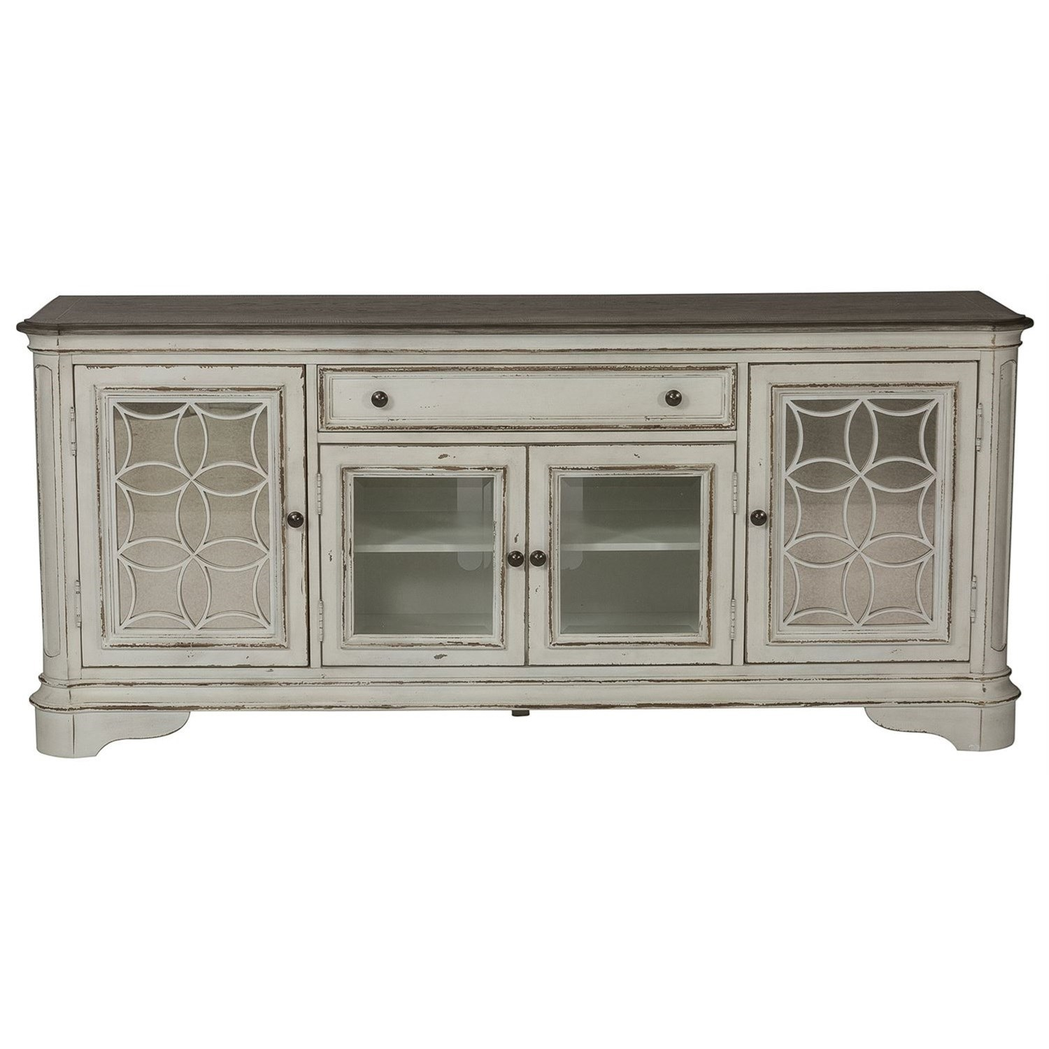 Morgan Entertainment TV Stand by Libby at Walker's Furniture