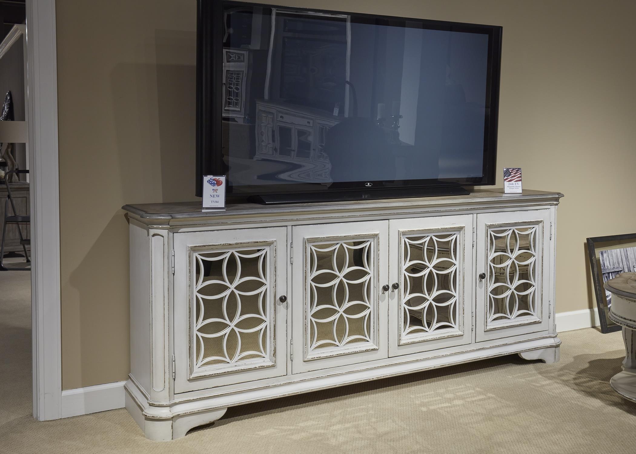 Magnolia Manor TV Console by Sarah Randolph Designs at Virginia Furniture Market