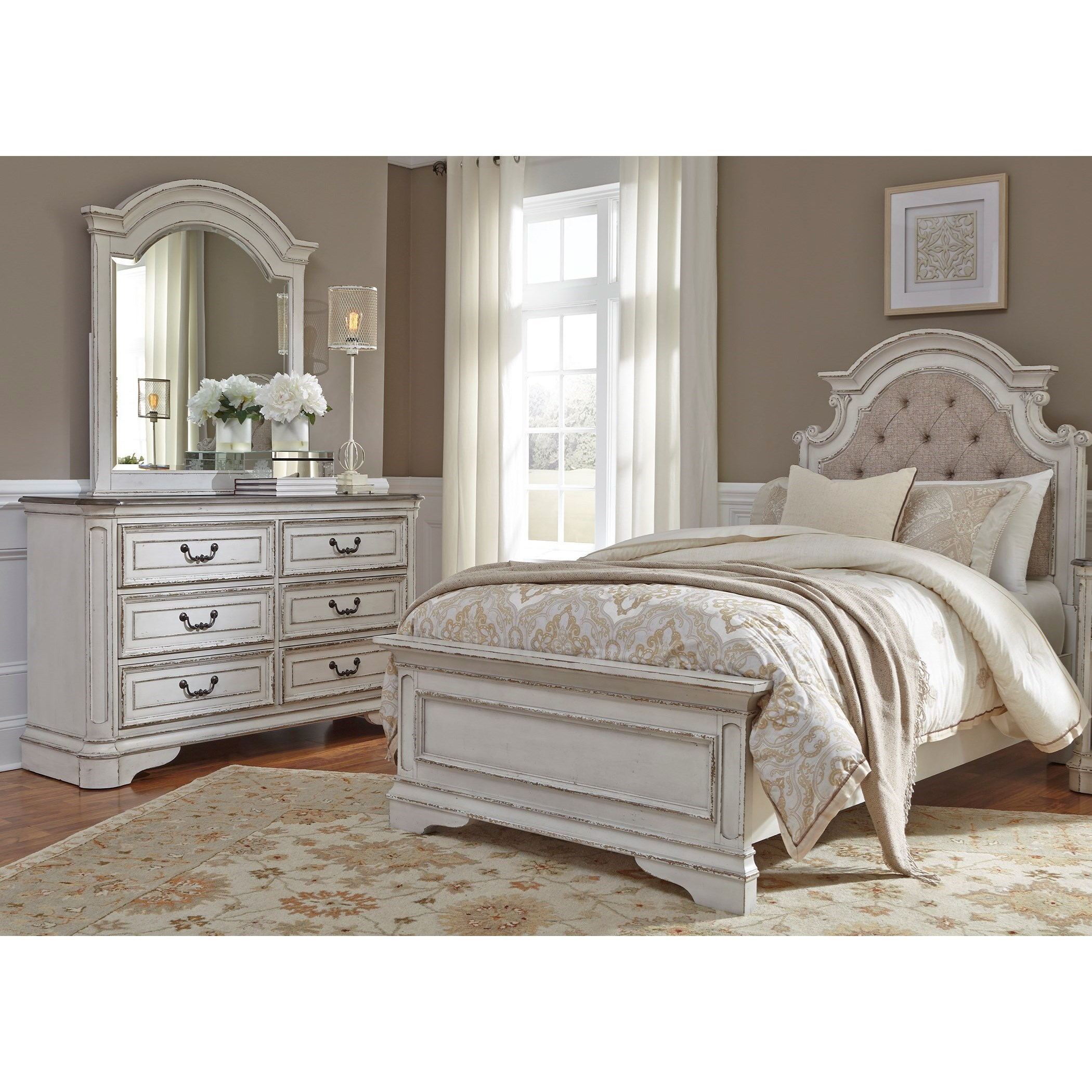 Magnolia Manor Twin Bedroom Group by Liberty Furniture at Zak's Home