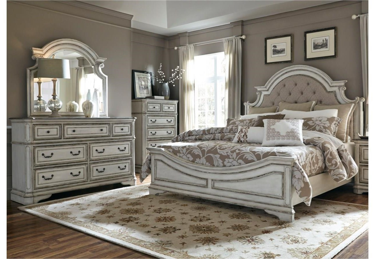 Morgan 5 Piece Queen Bedroom Group by Libby at Walker's Furniture
